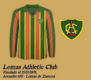 Camiseta del Lomas Athletic Club