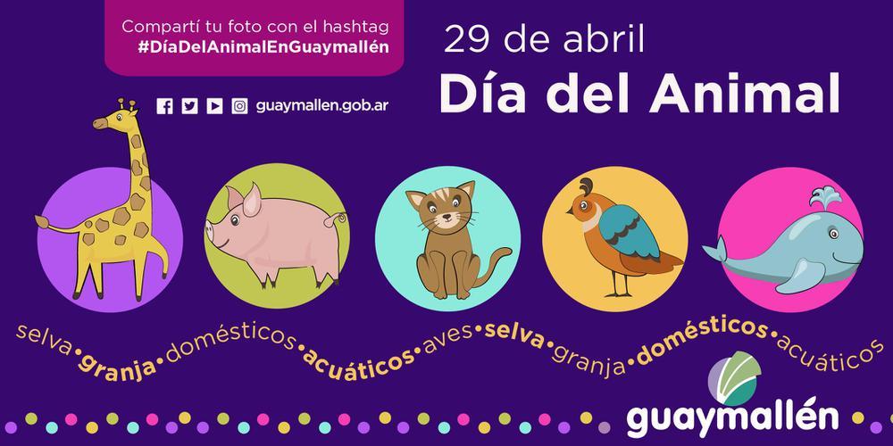 Día del Animal en Guaymallén (placa)
