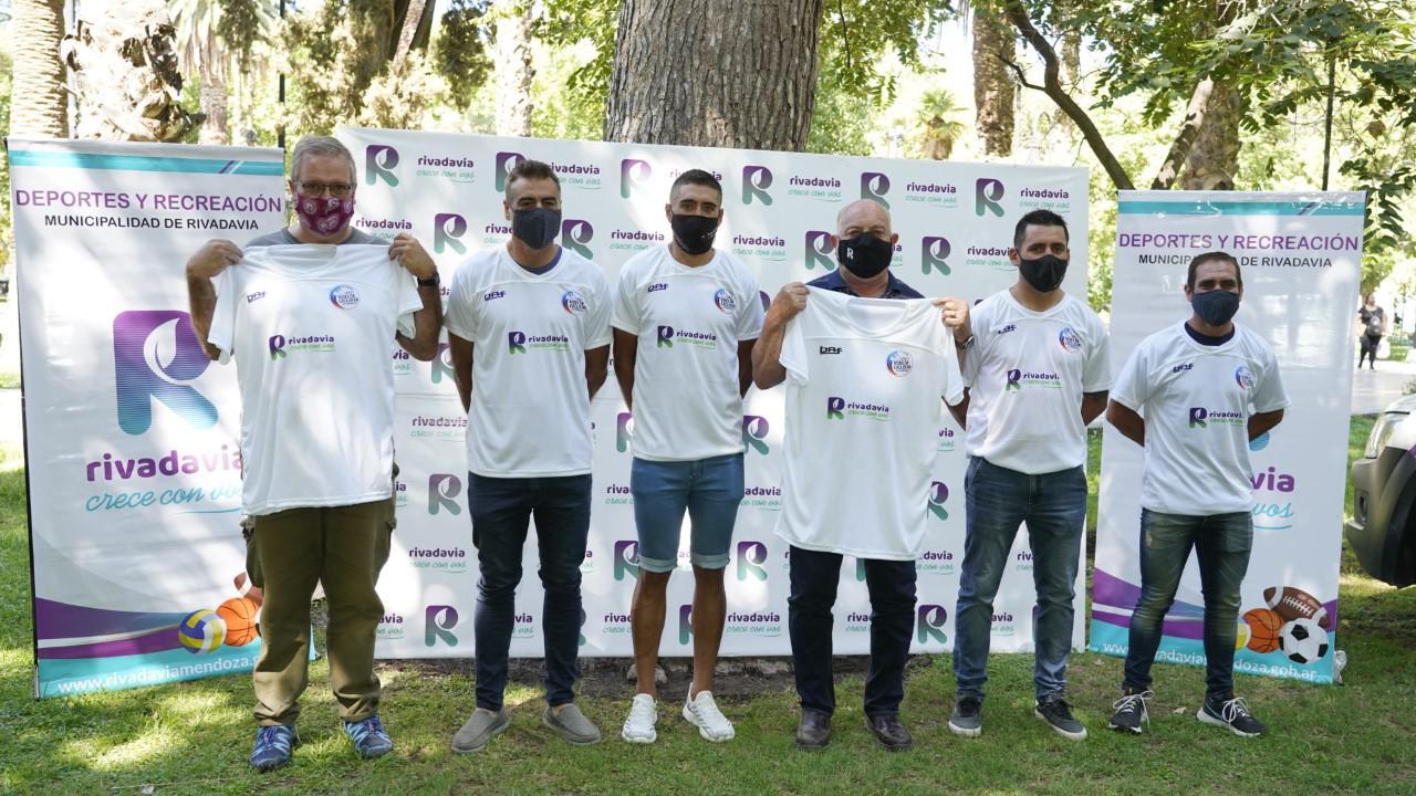 Equipo de Rivadavia para la Vuelta