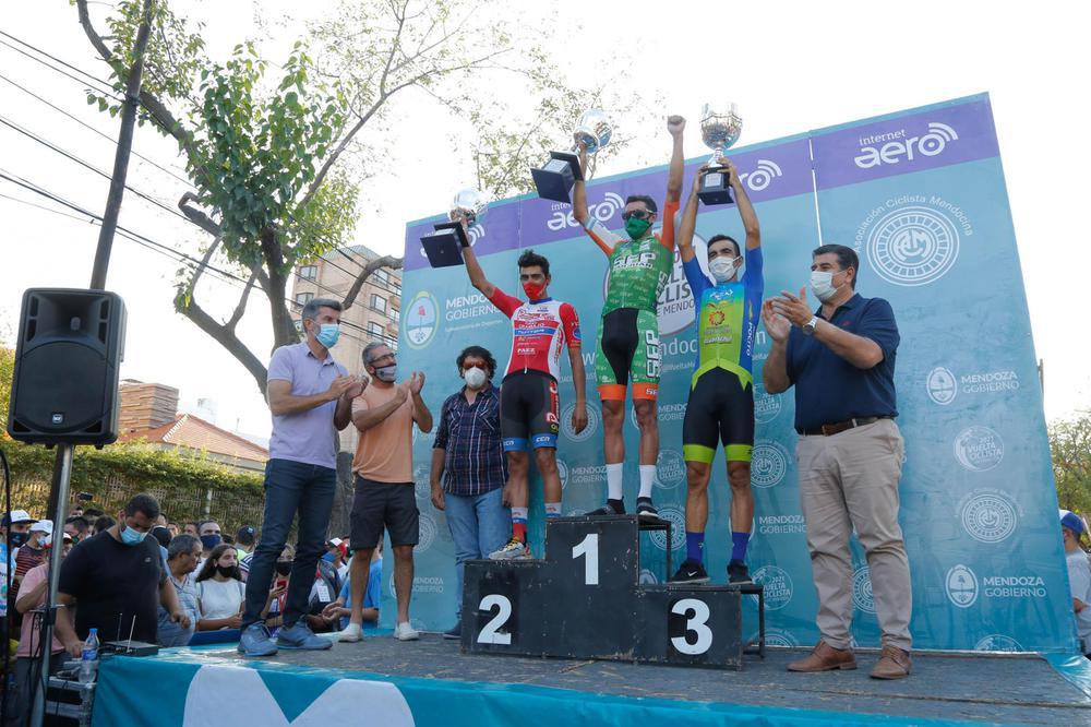 Juan Pablo Dotti, podio de la Vuelta