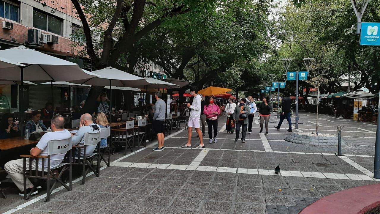 Peatonal Ciudad de Mendoza