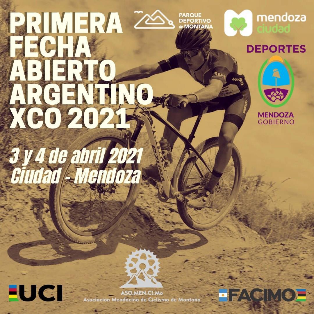 Abierto Argentino, 3 y 4 de Abril en Mendoza