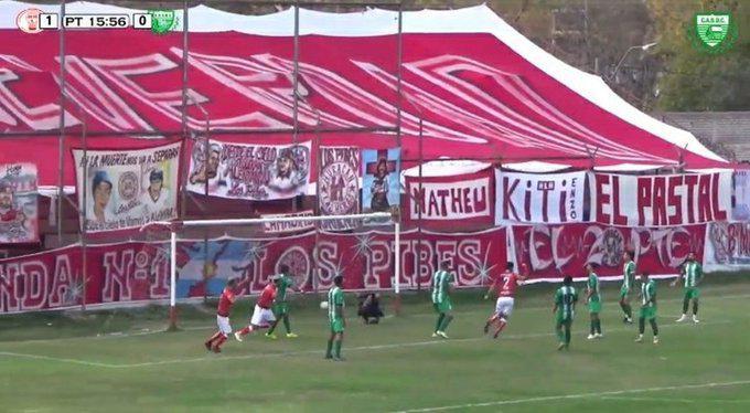Ascenso, Huracán Las Heras 1- Camioneros 0