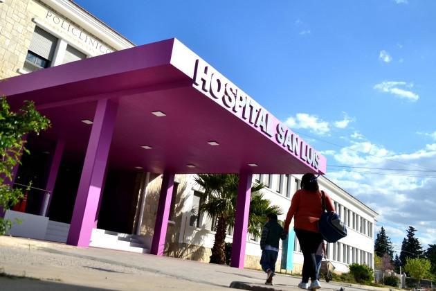 Hospital San Luis fachada