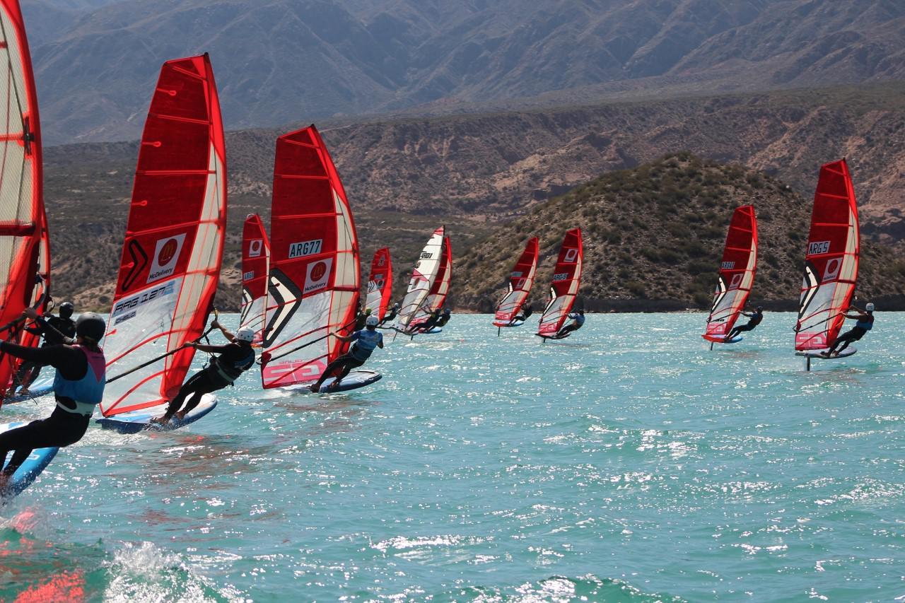 Windsurf, campeones en Potrerillos