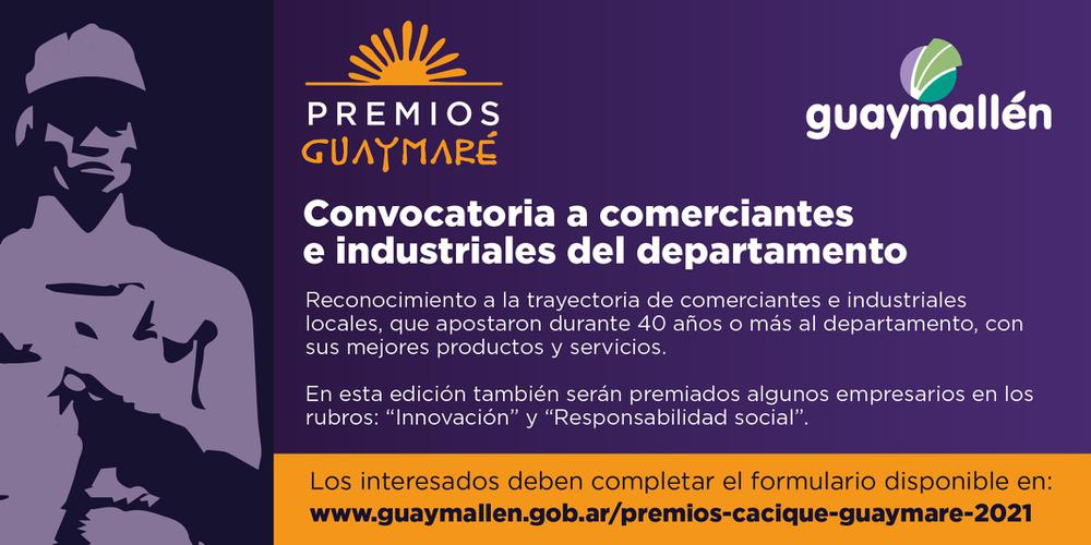 Premios Guaymaré 2021