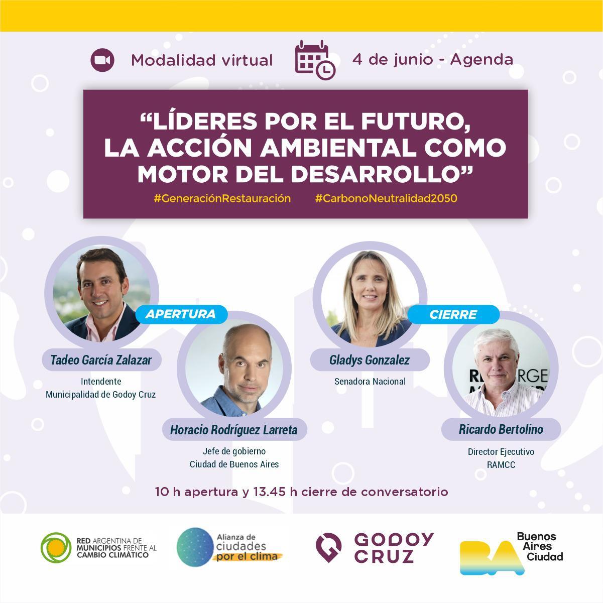 evento día del ambiente 2021 cuadrada- Tadeo Larreta