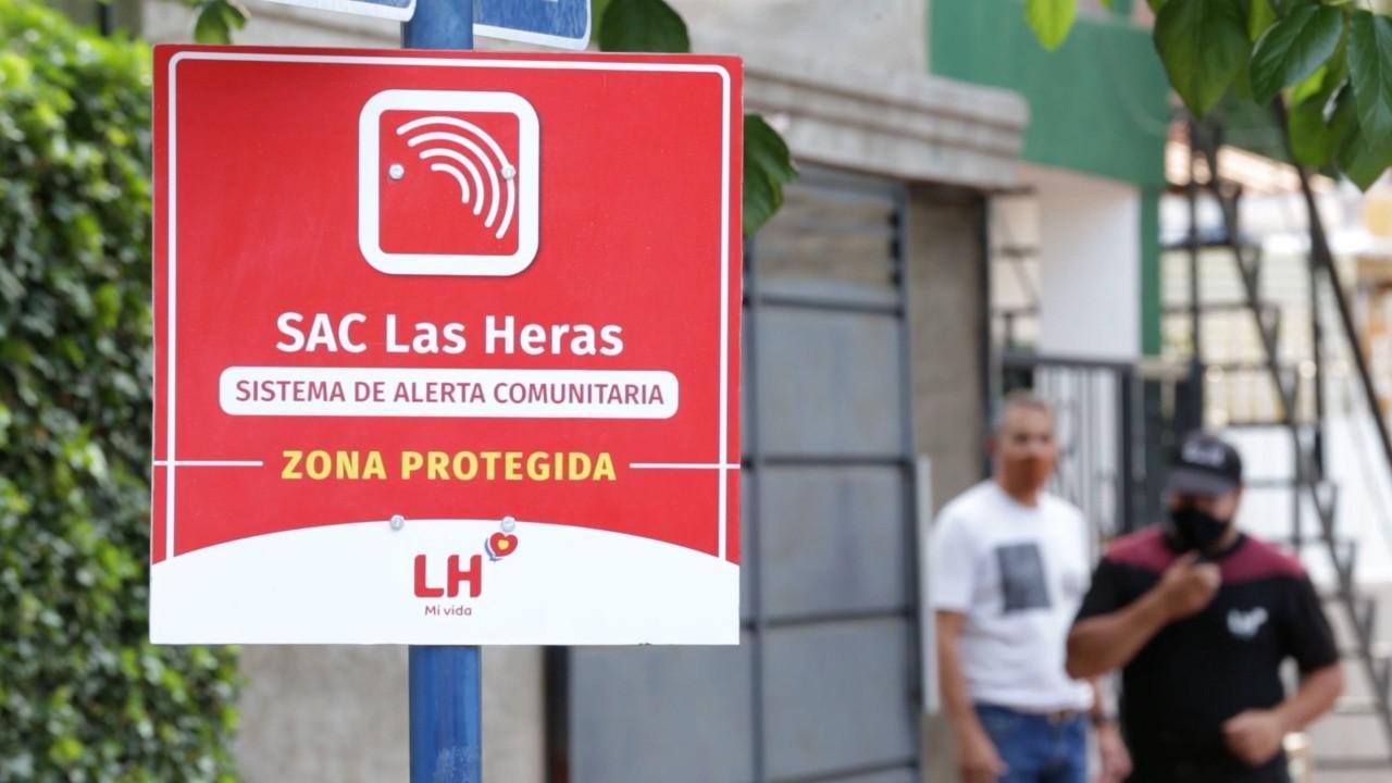 SAC Sistema Alerta Comunitaria LH
