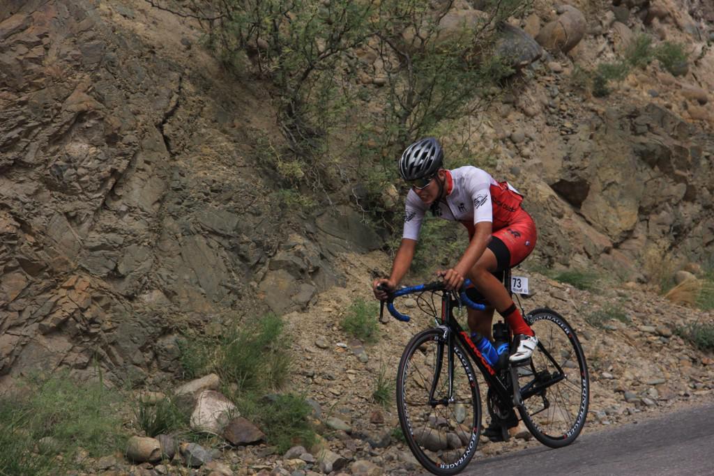 Nahuel Garrido ciclista sanrafaelino
