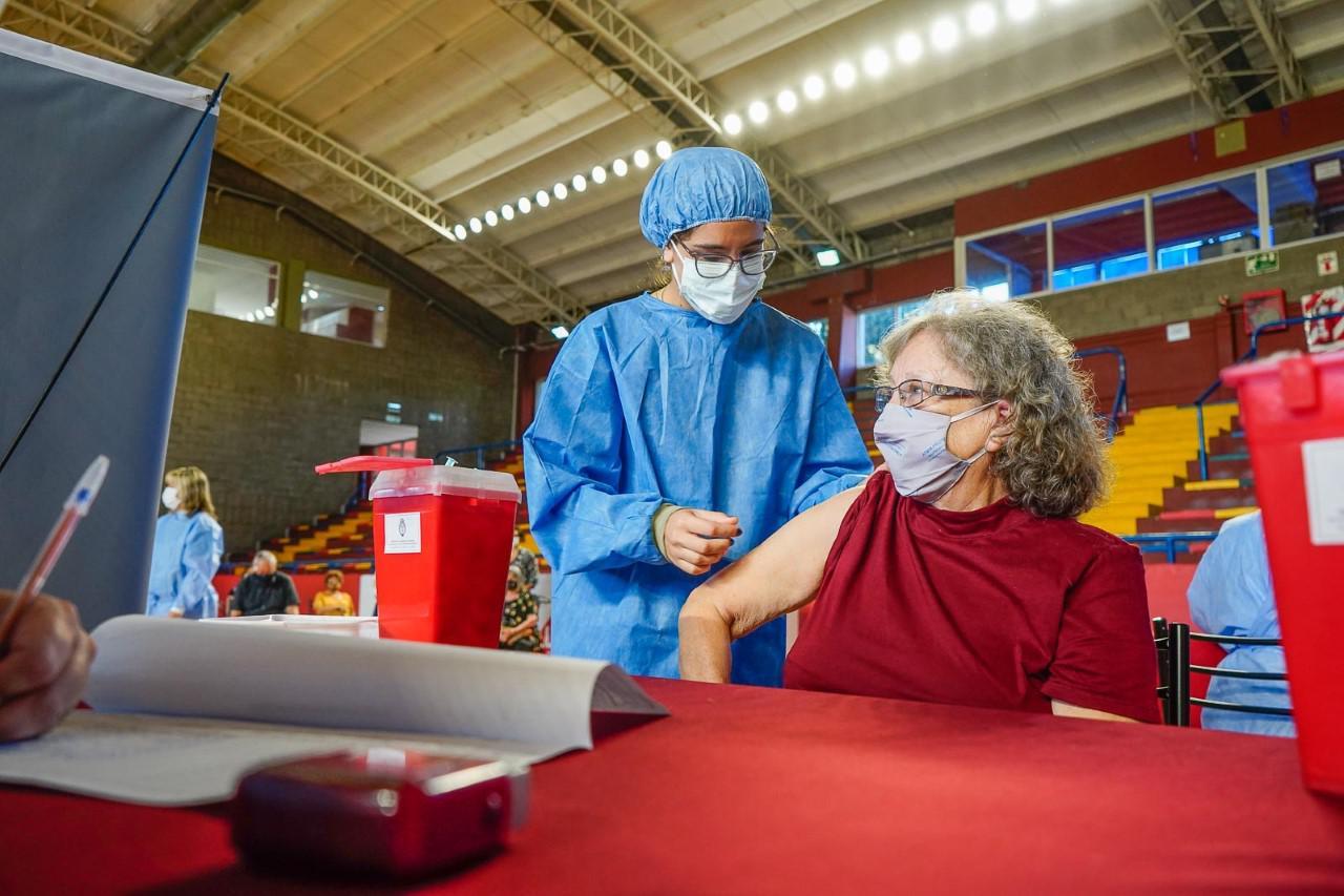 Las Heras, vacunación confinamiento