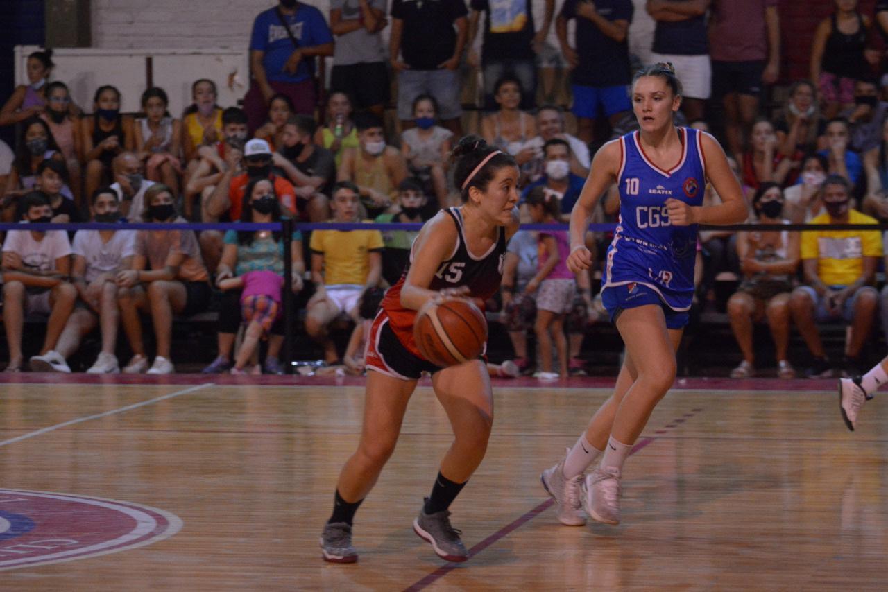 Basquetbol femenino, primera fecha en Mendoza