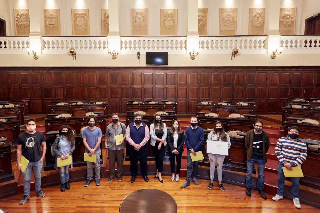 LH, distinción legislativa a la camara juvenil