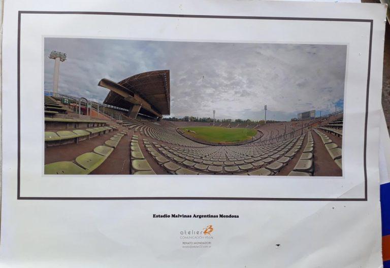 Estadio mundialista Malvinas Argentinas de Mendoza