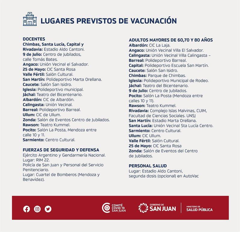 plan de vacunacion sj