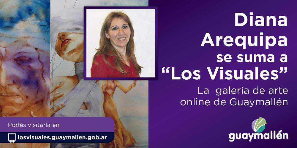 Los Visuales- Diana Arequipa (placa)