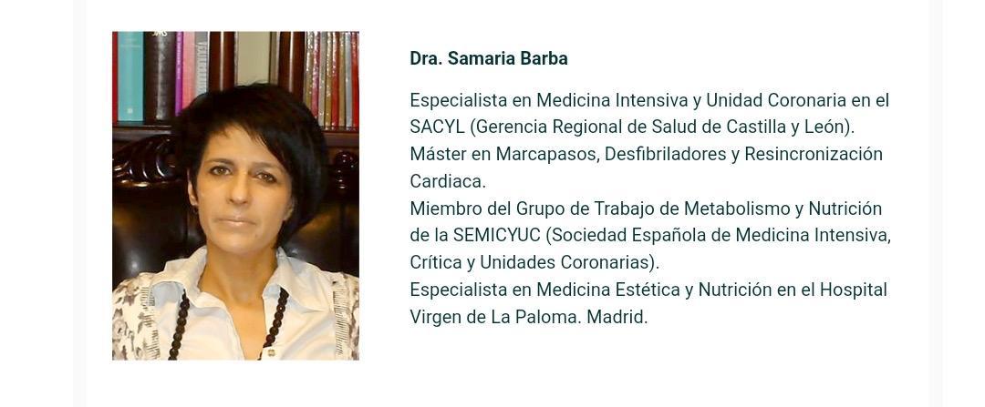 Dra. Samaria Barba