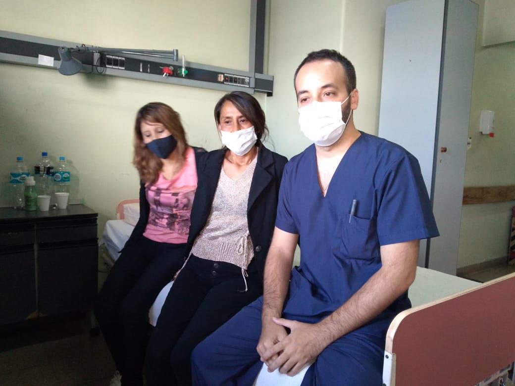 medico hermanas trasplante 2