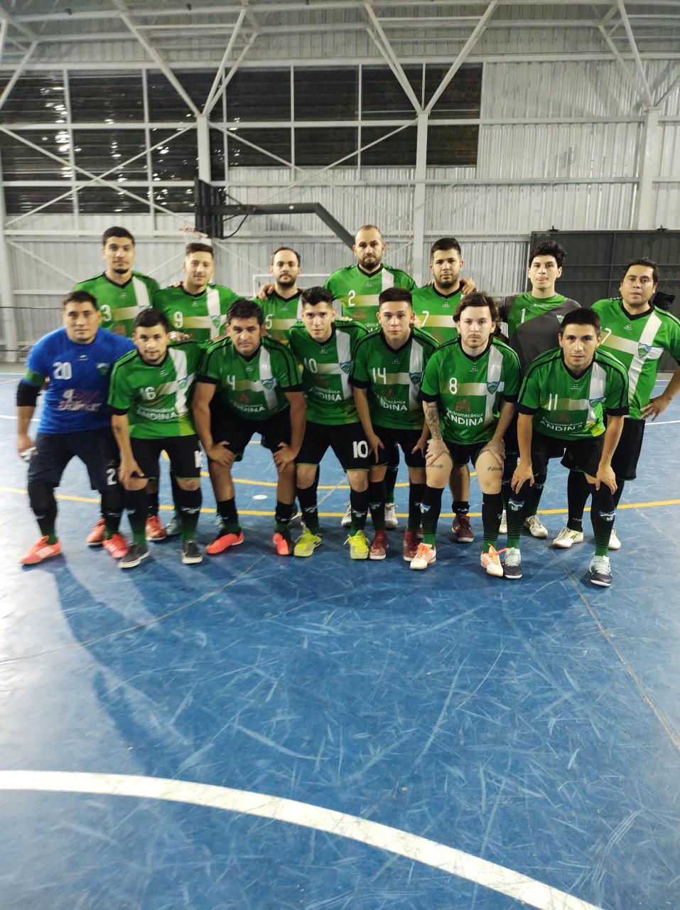 Futsal, La Cumbre, masculino