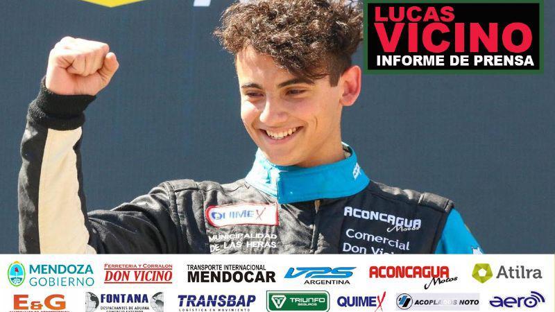 Lucas Vicino en Paraná